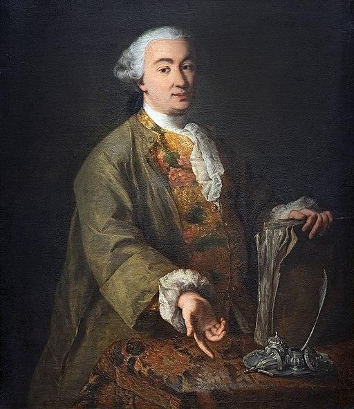 Alessandro Longhi - Ritratto di Carlo Goldoni (c 1757) Ca Goldoni Venezia