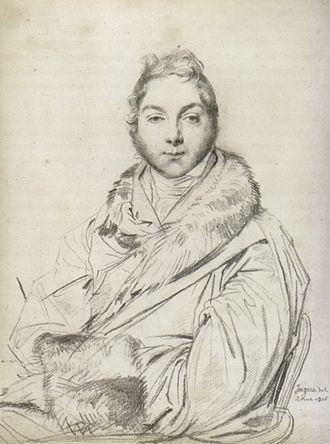 James Baillie (c. 1737–1793) - The eldest son: Alexander Baillie (1777–1855), drawn by Ingres, Rome, 1816