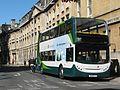 Alexander Dennis Enviro 400H diesel-electric hybrid bus in Magdalen Street, Oxford, England 01.jpg