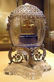 Alexander III Equestrian Faberge egg 01 by shakko.jpg