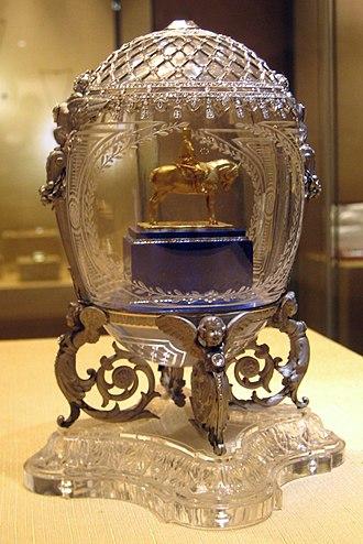 Alexander III Equestrian (Fabergé egg) - Alexander III Equestrian Egg