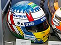 Alexander Wurz helmet 2017 Williams Conference Centre.jpg