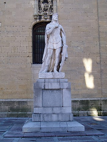 Alfonso II por V%C3%ADctor Hevia 1