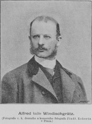Alfred III, Prince of Windisch-Grätz - Prince Alfred August of Windischgraetz in 1893