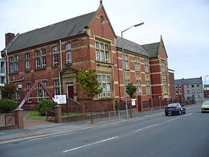Furness Academy - Image: Alfred Barrow School Main Block
