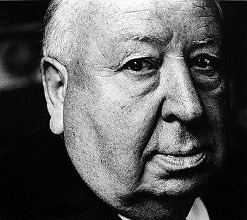 English: Alfred Hitchcock