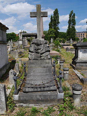 Alfred Horsford - Monument, Kensal Green Cemetery