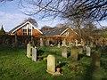 All Saints' school and churchyard, Compton - geograph.org.uk - 367641.jpg