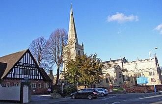 Hessle - Image: All Saints Church, Hessle geograph.org.uk 319315