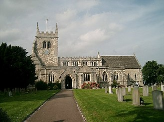 Sherburn-in-Elmet - Image: All Saints Church, Sherburn in Elmet
