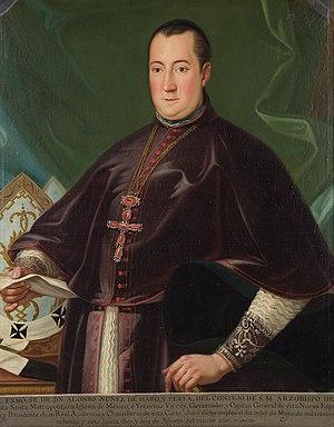 Alonso Núñez de Haro y Peralta - Image: Alonso Nugnezde Haroy Peralta
