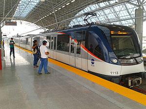 Panama Metro - Alstom Metropolis on Line 1 (2014)
