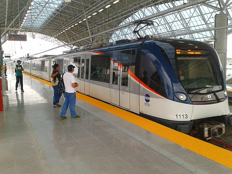 Alstom Metropolis trainset - Metro de Panama