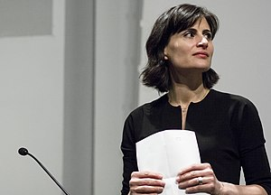 Amale Andraos - Andraos at 2015 Koolhaas Lecture