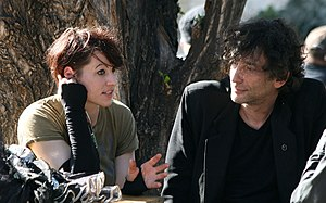 8in8 - Amanda Palmer with husband Neil Gaiman