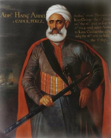 Ambassador Admiral Abelkader Perez 1723 1737