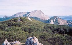 Anboto mountain is one of sites where Mari was believed to dwell.