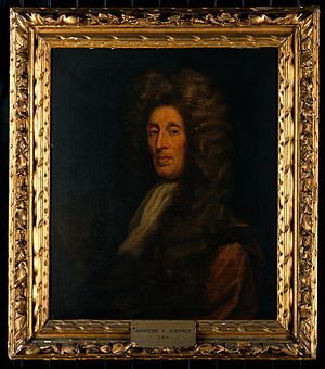 Ambrose Godfrey - Oil painting of Ambrose Godfrey