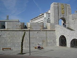American War Memorial, Gibraltar - The American War Memorial in Gibraltar