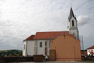 Amorots-Succos - Image: Amorots Succos église fronton