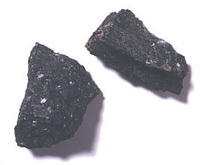 Hornblende - two hornblende samples