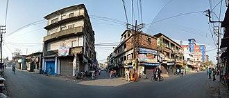 Domjur - Amta road (SH-15) and Jagadishpur road junction