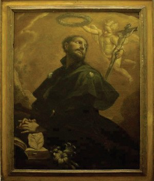 Giovanni Anastasi - Painting of Saint James by Anastasi