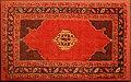 Anatolia occidentale, piccolo tappeto ushak a medaglione, xvii secolo.jpg