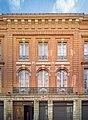 Ancien hôtel de Bonfontan - 41 rue Croix-Baragnon Toulouse - MériméePA00094534 - Partie centrale de la facade.jpg