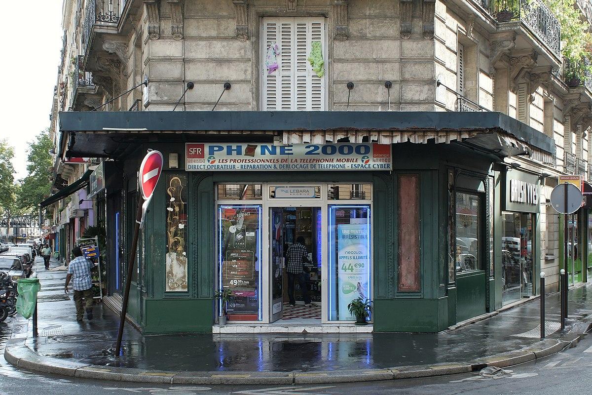 Liste des monuments historiques du 10e arrondissement de - Liste magasin paris nord 2 ...