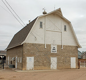 National Register of Historic Places listings in Weld County, Colorado - Image: Anderson Barn