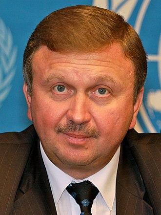 Andrei Kobyakov - Image: Andrei Kobjakow, Belarus Vize Ministerpräsident 2 (cropped)