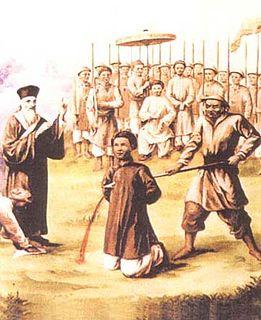 Andrew of Phú Yên Christian martyr from Vietnam