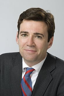 Andy Burnham, vers 2009.