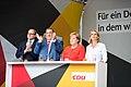 Angela Merkel, Claudia von Brauchitsch, Karl Alfred Lamers - 2017248170518 2017-09-05 CDU Wahlkampf Heidelberg - Sven - 1D X MK II - 065 - AK8I4318.jpg