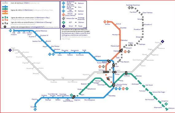 Анкарский метрополитен -