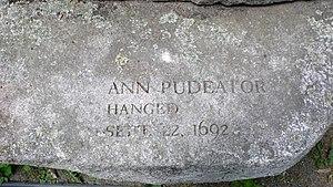 Ann Pudeator - Ann Pudeator's memorial marker