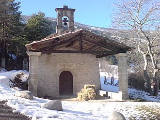 Annot - Chapel of Vérimande.