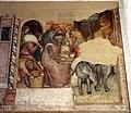 Anonimo bolognese, storie di giuseppe ebreo, 1330-75 ca., 09 consegna dei sacchi di grano.jpg