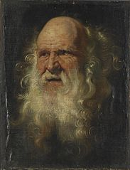 Head of an Old Man, Study