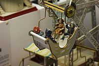 Antique German toy Ferris wheel (24965416689).jpg