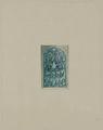 Antiquities of Samarkand. Tomb of the Saint Kusam-ibn-Abbas (Shah-i Zindah) and Adjacent Mausoleums. Mausoleum of Sha Arap. Section of Stalactite Decoration Inside the Mausoleum WDL3922.png