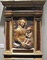 Antonio rossellino, madonna delle candelabre, 1457-1461 ca, 79x57 cm, coll privata.JPG