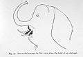 Aphasia, successful attempt to draw elephant. Wellcome L0023681.jpg