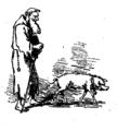 Arène - La vraie tentation du grand Saint Antoine - contes de Noël, 1880, illust 13.png