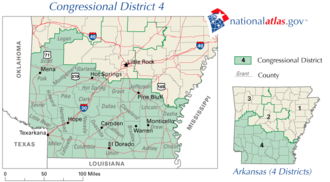 United States House of Representatives elections in Arkansas, 2006 - Image: Ar 04 109