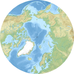 Kaffeklubben Island is located in Arctic