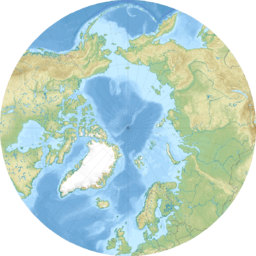 Arctic Ocean relief location map.png
