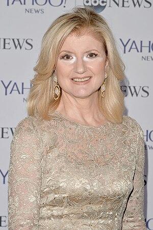 Arianna Huffington - Huffington in 2014