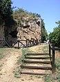 Aristotle's School - Path across the caves.jpg